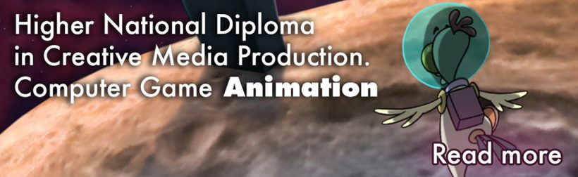 Higher National Diploma in Creative Media Production