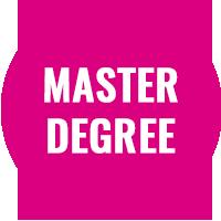 Master Degree Button
