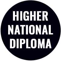 Higher National Diploma Button